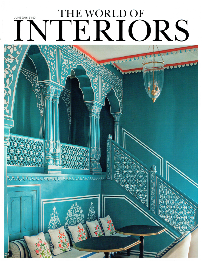 World of Interiors Front Cover